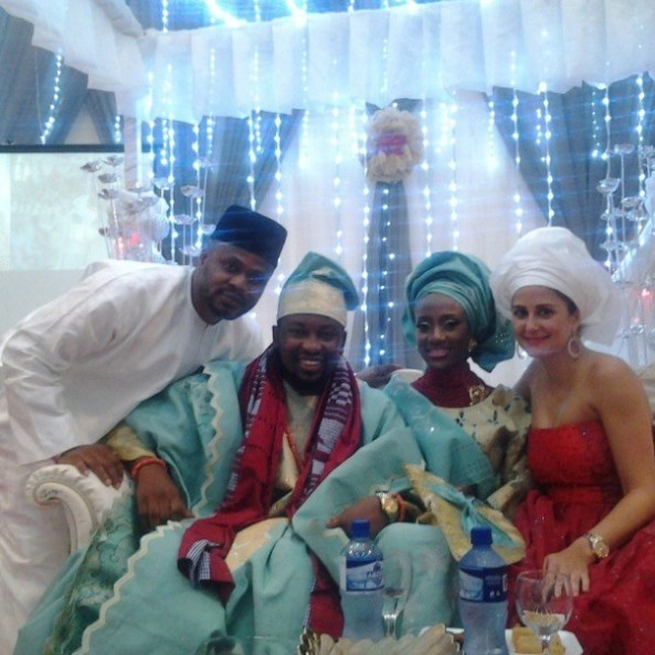 PICTURES PICTURES Of D'banj's Sister's Wedding